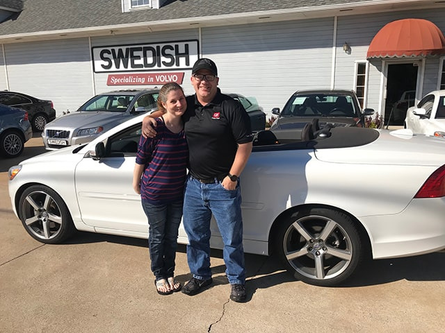 Me and My Volvo customer photo - Swedish Imports - Edmond Oklahoma (9)